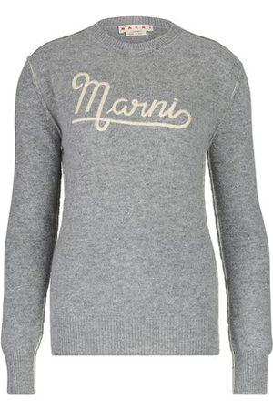 Marni Damen Pullover - Pullover aus Shetlandwolle