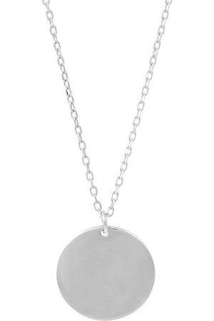 Momentoss Filo Halsketten - Halskette - Gravurplatte rund - 21700059