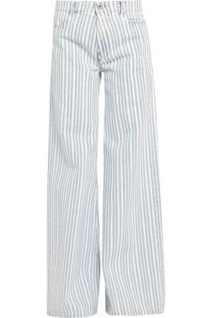 OFF-WHITE™ Damen Cropped - DENIM - Jeanshosen - on YOOX.com