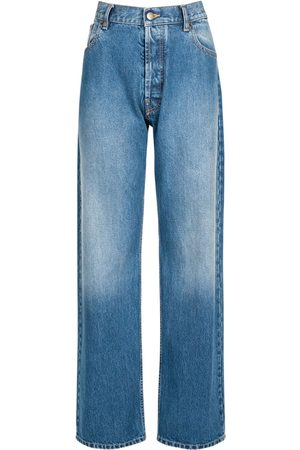 Maison Margiela Gerade Jeans Aus Baumwolldenim