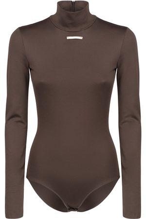 Maison Margiela Damen Bodys - Body Aus Stretch-jersey