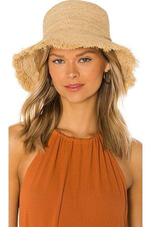 Hat Attack Packable Raffia Bucket Hat in .