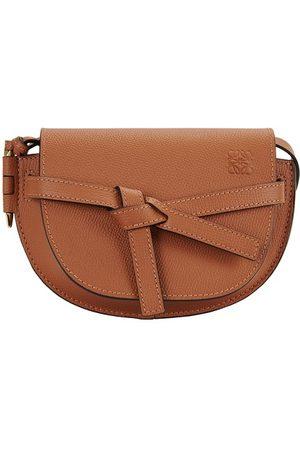 Loewe Mini Gate Tasche aus Leder