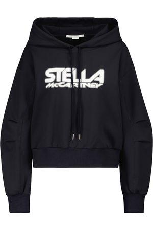 Stella McCartney Damen Longsleeves - Bedruckter Hoodie