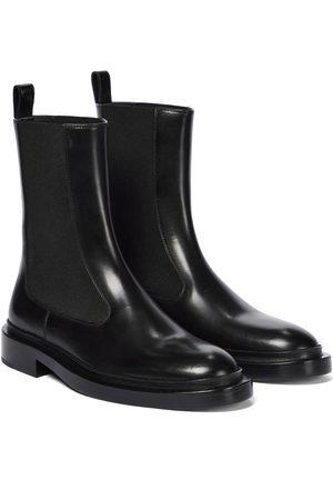 Jil Sander Ankle Boots aus Leder