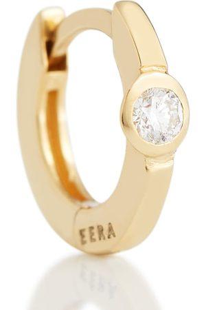 Eera Einzelner Ohrring Mini aus 18kt Gold mit Diamanten