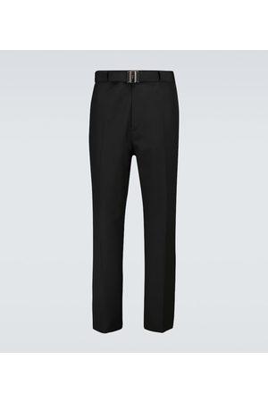 Givenchy Hose aus Leinen mit geradem Bein