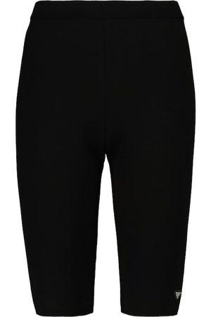 Prada High-Rise Shorts mit Wollanteil