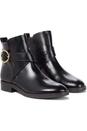 See by Chloé Damen Stiefeletten - Ankle Boots Lyna aus Leder