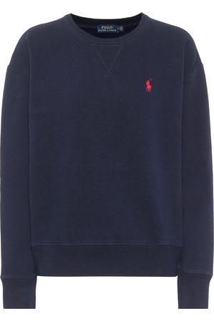 Polo Ralph Lauren Damen Longsleeves - Sweatshirt aus Baumwolle