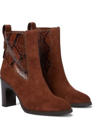 See by Chloé Ankle Boots Annylee aus Veloursleder