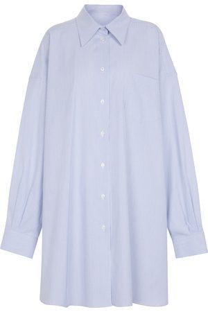 Maison Margiela Hemdblusenkleid aus Baumwolle