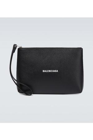 Balenciaga Pouch Cash aus Leder