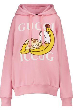 Gucci X Bananya Hoodie aus Baumwolle