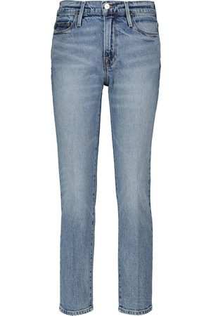 Frame High-Rise Jeansshorts Le Hardy