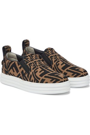 Fendi Damen Sneakers - Slip-ons Rise