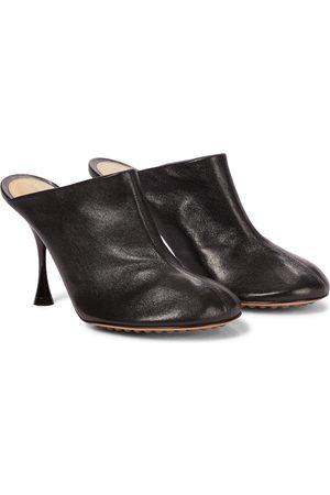Bottega Veneta Mules Dot Sock aus Leder