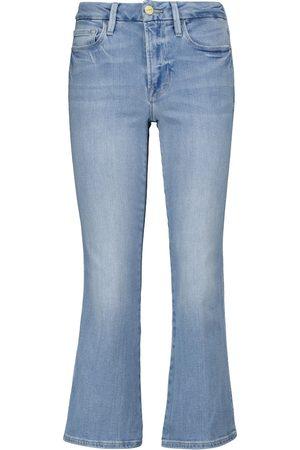 Frame Mid-Rise Jeans Le Crop Mini Boot