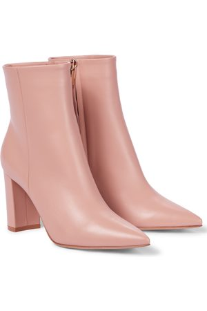 Gianvito Rossi Ankle Boots Piper 85 aus Leder
