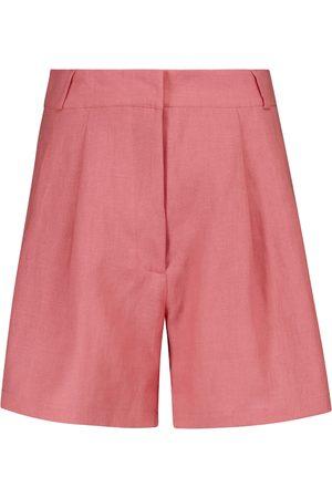 ASCENO Shorts Madrid aus Leinen