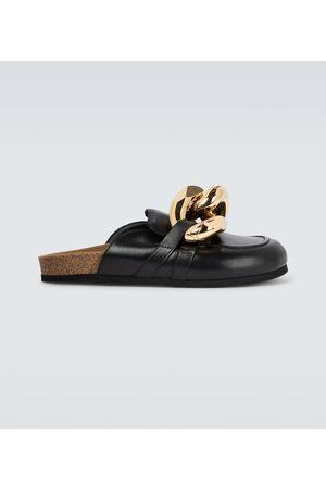 J.W.Anderson Loafers Curb Chain aus Leder