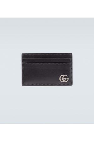 Gucci Kartenetui GG Marmont aus Leder