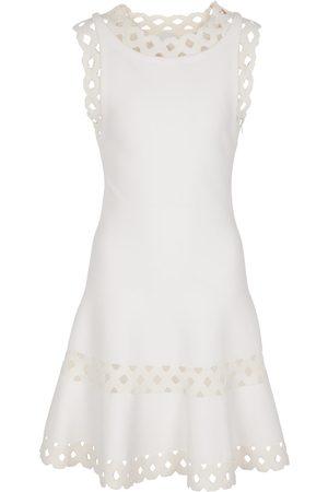Alaïa Minikleid aus einem Wollgemisch