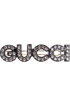 Gucci Haarspange mit Kristallen
