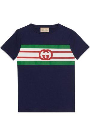 Gucci Jungen Shirts - Kinder-T-Shirt mit GG Print