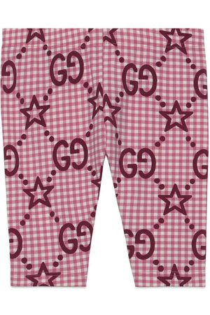 Gucci Babyleggings mit GG Sternen-Print