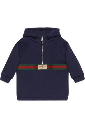 Gucci Babyjacke aus Baumwolle mit Etikett