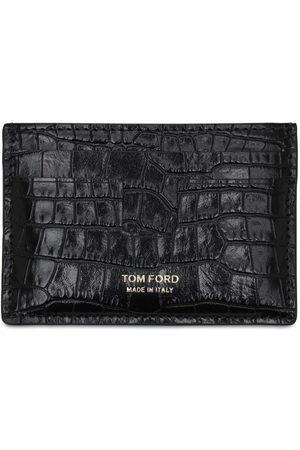 Tom Ford Kartenhülle Aus Geprägtem Leder