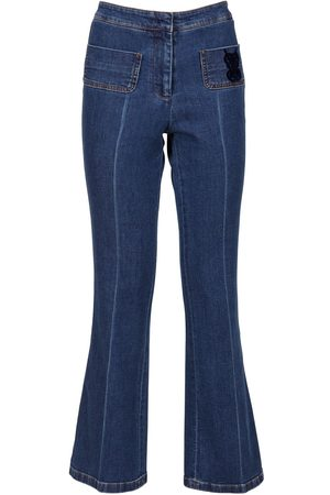 Giambattista Valli Ausgestellte Jeans Aus Denim
