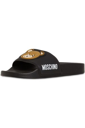 Moschino Gummisandalen Mit Teddy