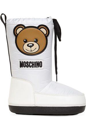"""Moschino Schneestiefel Aus Nylon """"teddy Bear"""""""