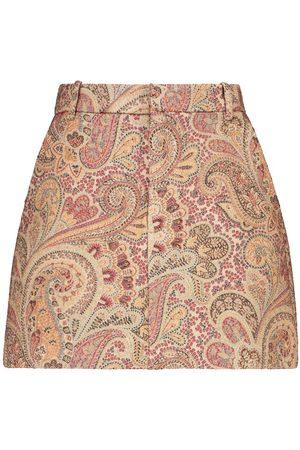 Etro Shorts aus Wolle und Seide