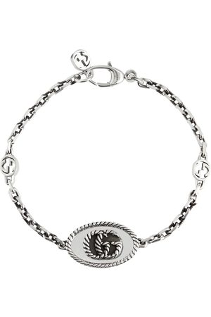 Gucci Armband Double G aus Sterlingsilber
