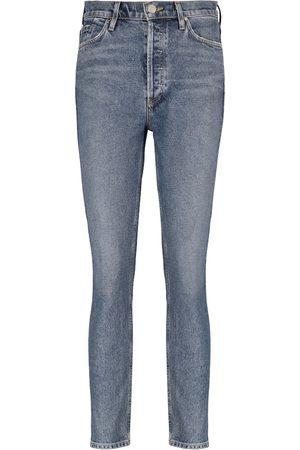 Goldsign High-Rise Slim Jeans