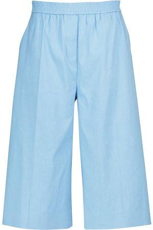 Joseph Damen Shorts - Shorts Tan aus Leinen und Baumwolle