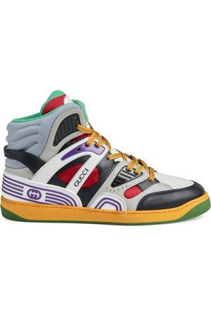 Gucci Basket Sneaker mit GG