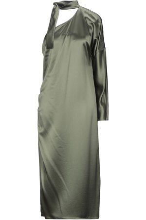 ACIDE Damen Asymmetrische Kleider - KLEIDER - Midikleider - on YOOX.com