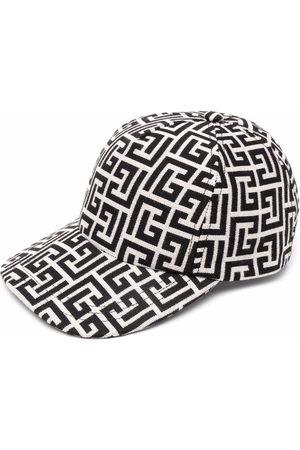 Balmain Herren Hüte - Monogram print baseball hat