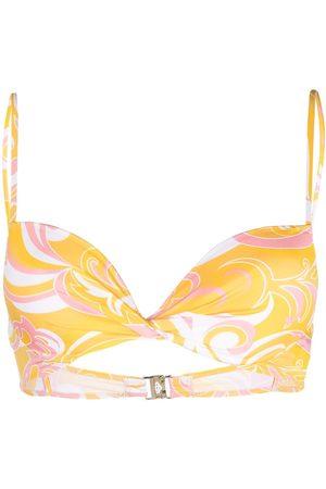 Emilio Pucci Damen Bikinis - Bikinioberteil mit Print