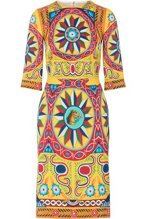 Dolce & Gabbana Midikleid mit Print