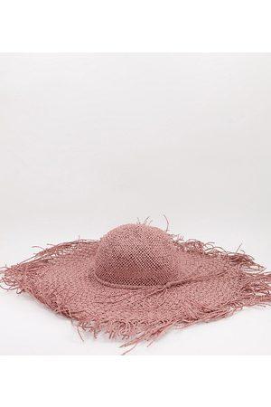 South Beach – Hut mit ausgefranster Kante aus Stroh in