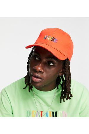 Reclaimed Vintage Inspired – Kappe in mit Logo in Regenbogenfarben