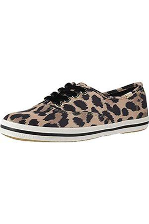 Keds Damen Champion Kate Spade Sneakers Leopardenmuster, Beige (Tan Multi)