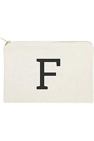 The Cotton & Canvas Co. Koffer - Personalisierte moderne Monogramm-Kosmetiktasche und Reise-Make-up-Tasche