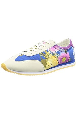 Desigual Damen Shoes_ROYAL_Flowers Sneakers Woman