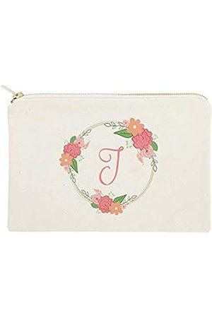 The Cotton & Canvas Co. Koffer - Personalisierte farbige Monogramm-Kosmetiktasche und Reise-Make-up-Tasche
